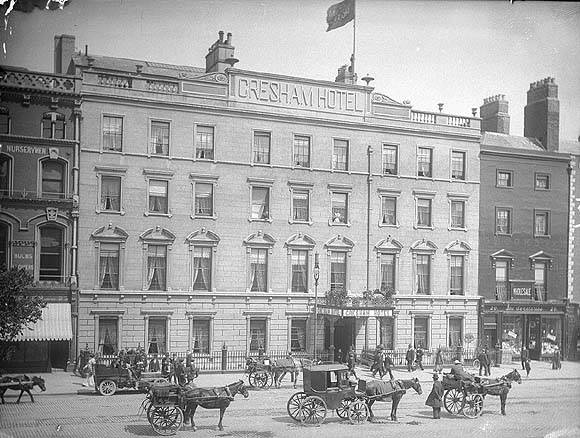 Gresham Hotel, Dublin, circa 1900.