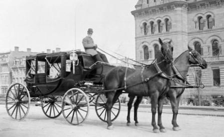 Horse cab in Ottawa