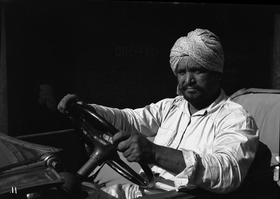 A Calcutta taxi driver in 1945