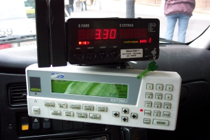 Photo: taximeter and MDT