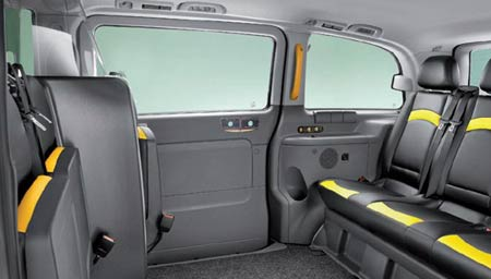 Mercedes Benz Vito taxi interior