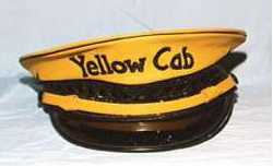 Photo of a Yellow Cab driver's hat