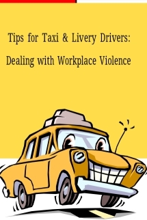 Click on this pamphlet cover for a safety training brochure for taxi drivers
