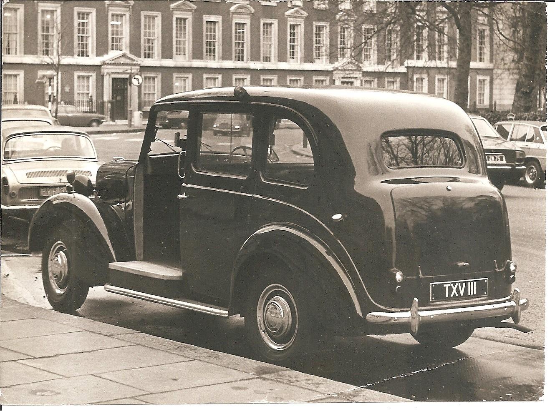 FX3 London taxi