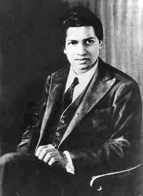 Photo of Srinavasa Ramanujan courtesy of Wikipedia