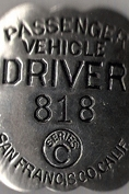 Link to another website that has an extensive collection of taxi driver and chauffeur badges