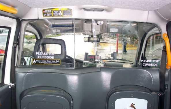 London taxi partition