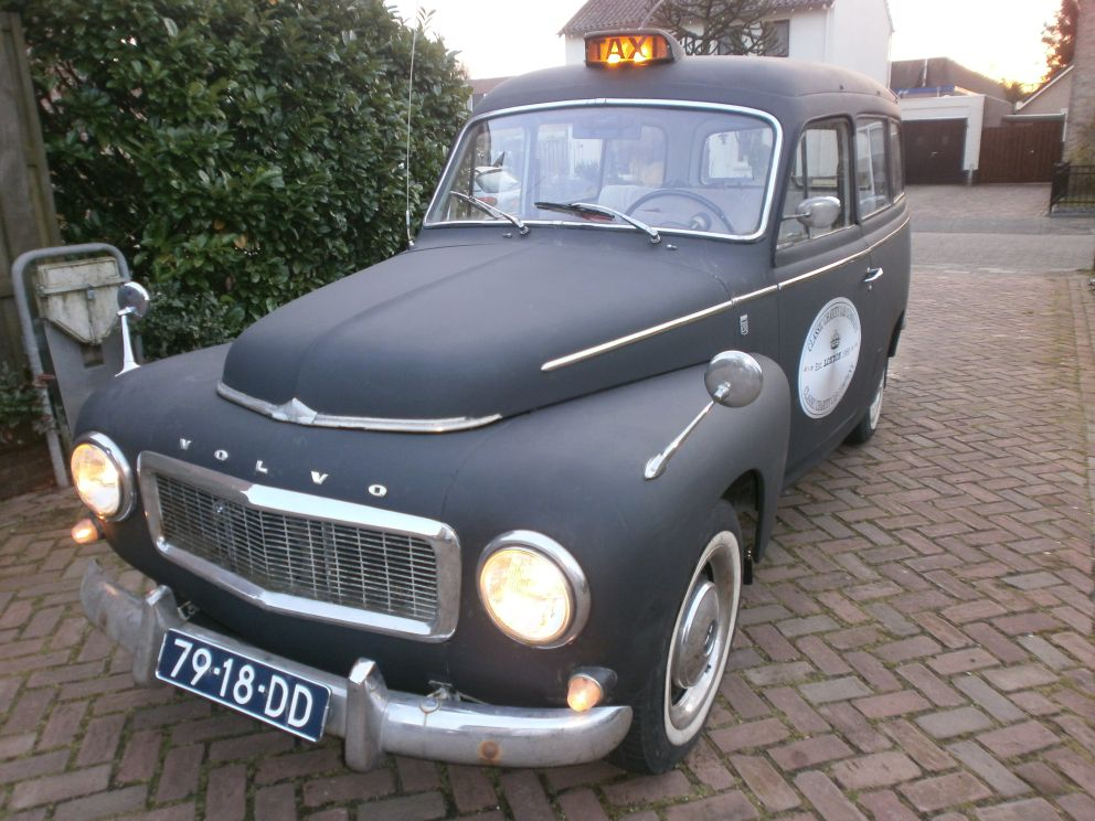 Classic Volvo taxicab